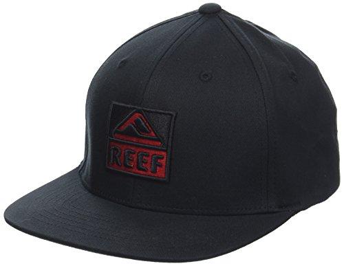 Reef_Apparel Reef Classic Block I Gorra de béisbol, Negro (Black Bla), Small para Hombre
