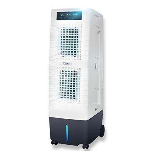 YX Humidifier Luftbefeuchter Klimaanlage 30 L Wassertank Luftbefeuchter Luftboden Nebelfrei Industrie Nassfilm 4 Rollen 3 Windgeschwindigkeit Indoor/Industrie