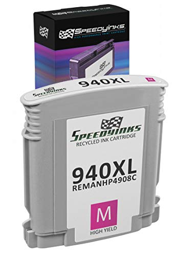 Speedy Inks Remanufactured Ink Cartridge Replacement for HP 940XL High-Yield (Magenta)