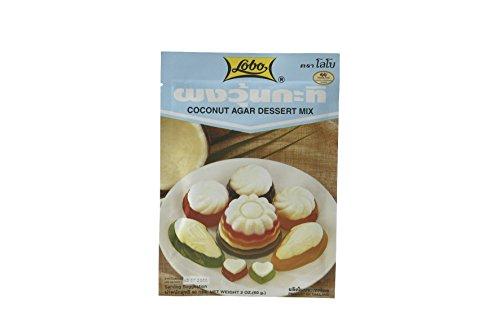 Lobo Dessertmix Kokos Agar, 12er Pack (12 x 60 g)