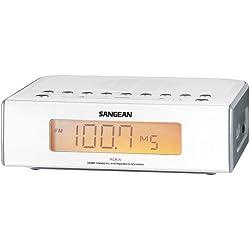 New-Digital AM/FM Clock Radio With Dual Alarms - T53100