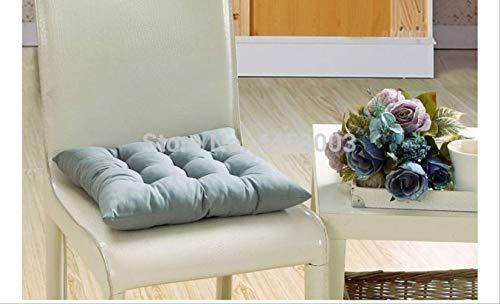 Nee gekleurd kussen, zacht, comfortabel, bureaustoel, zitting, kussen. 45x45cm  Metálico