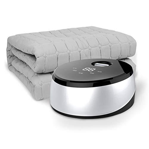 SJTCP Verwarmingsdeken voor beddengoed, dekbed van polyester, gewatteerd, met energie voor waterverwarming, verwarming, watercirculatie, met touch-knop