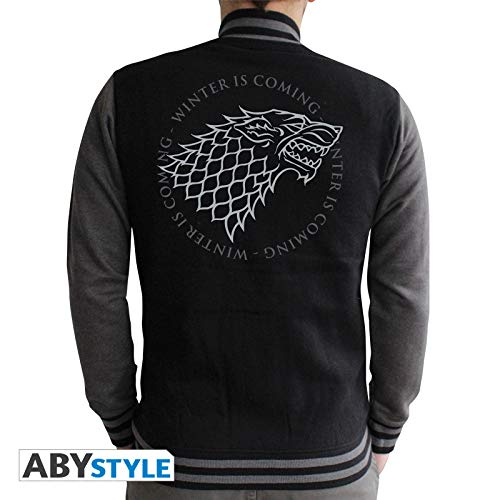 ABYstyle abystyleabyswe021-xxl Abysse Juego de Tronos Stark hombre chaqueta (2x -Large)