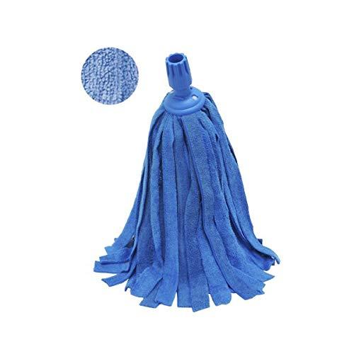 Hilados Fregona Microfibra Terry-Color Azul, Talla Unica