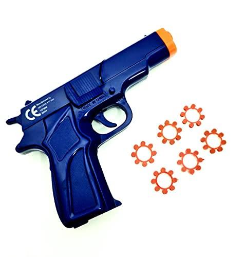 Kids Cap Gun plus 6 Ring Caps 48 shots Pistol Toy Kids Child Outdoor...