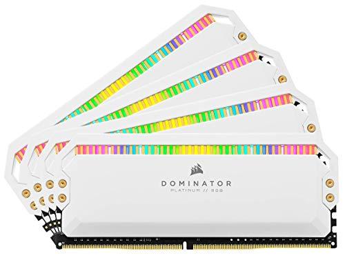 CORSAIR Dominator Platinum RGB Kit de Memoria de 32 GB (4 x