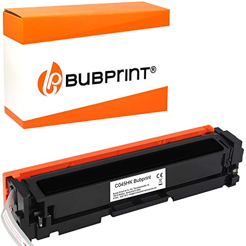 Bubprint Toner kompatibel für Canon 045H 045 H 045HBK 1246C002 i-Sensys LBP611CN LBP612CDW LBP613CDW MF631CN MF632CDW MF633CDW MF634CDW MF635CX Black