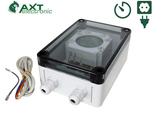 AXT-Electronic ZS-D - Digitale Zeitschaltuhr -Quasianalog-(Zubehör VSB+ST)