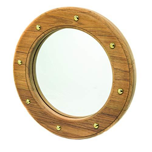 WHITECAP TEAK patrijspoort spiegel