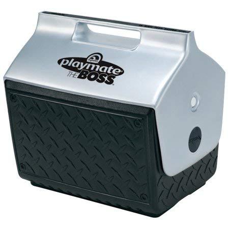 Igloo 6-Can Capacity Mini Playmate Cooler (Black/Silver)