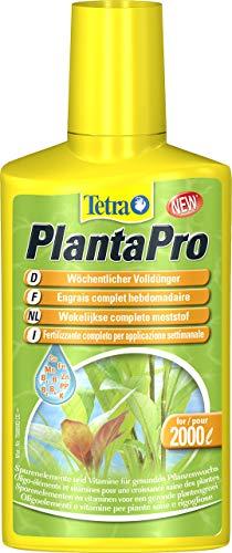 Tetra PlantaPro - flüssiger Pflanzendünger mit Spurenelementen und Vitaminen zur wöchentliche Anwendung, für prächtige und gesunde Pflanzen im Aquarium, Version 1.0, 250 ml