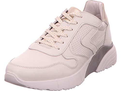 Maca Kitzbühel Sneaker Schnürhalbschuh Freizeit Damen Weiß Neu Größe 37 EU Weiß (weiß-bunt-kombiniert)