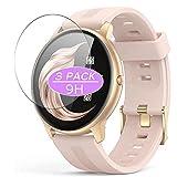 VacFun 3 Piezas Vidrio Templado Protector de Pantalla, compatible con AGPTEK LW11 smartwatch Smart Watch, 9H Cristal Screen Protector Protectora Reloj Inteligente