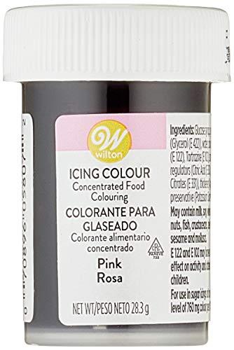Wilton Colorante Alimenticio para Glaseado en Pasta, 28.3g, Color Rosa, 04-0-0033