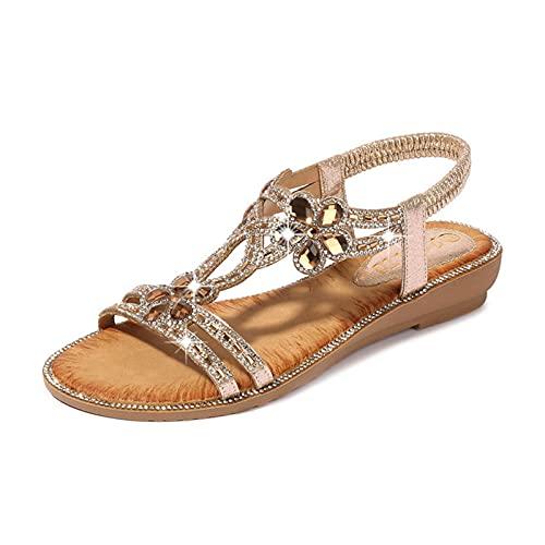 Sandalias De Señora  marca YZGSBBX