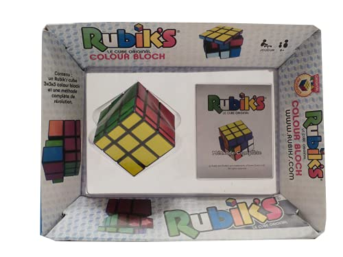 Wingames-Colour Block Rompecabezas 6 Colores del Cubo de Rubik 778