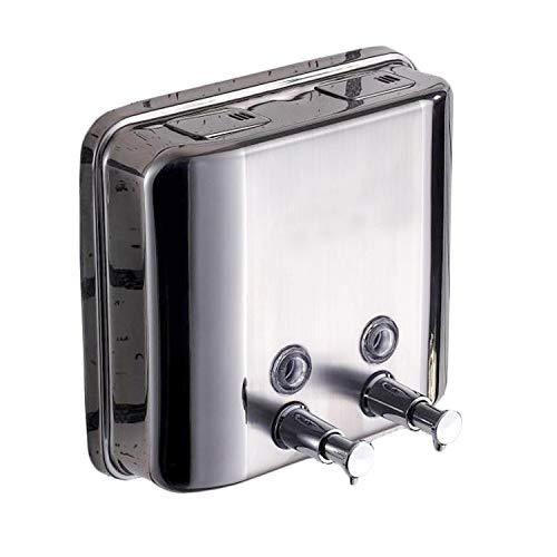 Seifenspender 1500ml 2 Stück Wandmontage Duschgel Spender Hand Duschgel Flüssigshampoo Edelstahl Polieren