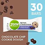 Best Bar Cookies - ZonePerfect Protein Bars, Chocolate Chip Cookie Dough, 10g Review