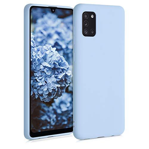 kwmobile Hülle kompatibel mit Samsung Galaxy A31 - Hülle Handyhülle - Handy Hülle in Pastellblau