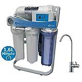 PUR Booster 5 Stufen 600 GPD Direct flow tanklose Umkehrosmoseanlage