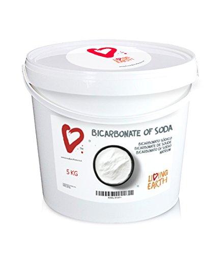 5 KG Seau, Living Earth Bicarbonate de Soude