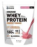 WINZONE ウィンゾーン ホエイ プロテイン パーフェクトチョイス 1kg サワーストロベリー風味 whey protein 100