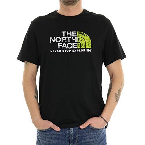 The North Face Camiseta para Hombre. Negro XL