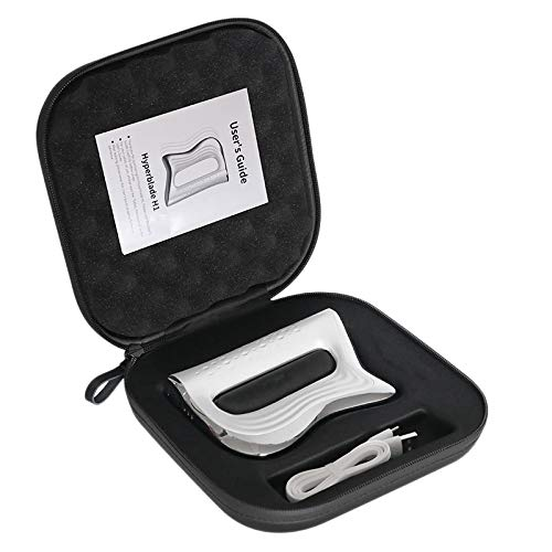 YanYun Elektrisches Kratzen NMES Faszien Messer Entspannung Muskel Krampf Messer Fitness Muskel Schmerzen Rehabilitation Physiotherapie Instrument mit EVA Aufbewahrungs Tasche