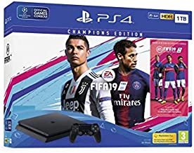 Sony PlayStation 4 1TB Console (Black) with FIFA 19 Champions Edition - Early Access Bundle