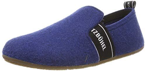 Living Kitzbühel T-Modell Schriftzug Niedrige Hausschuhe, Blau (Saphir 0569), 35 EU