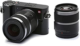 YI M1 Mirrorless Digital Camera with 12-40mm F3.5-5.6 Lens - Storm Black