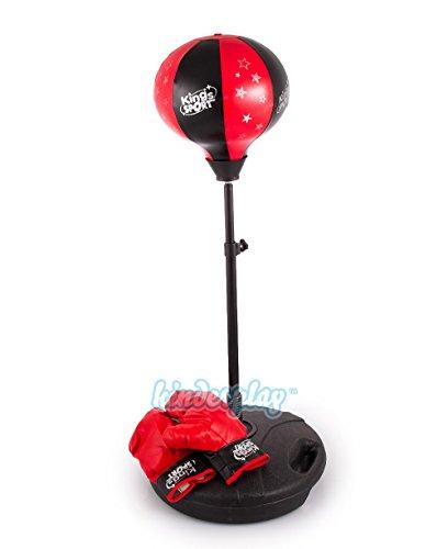 Kinderplay Standboxsack KP2119 Verstellbar Boxbirne mit Boxhandschuhe Spielzeuge Punch Ball