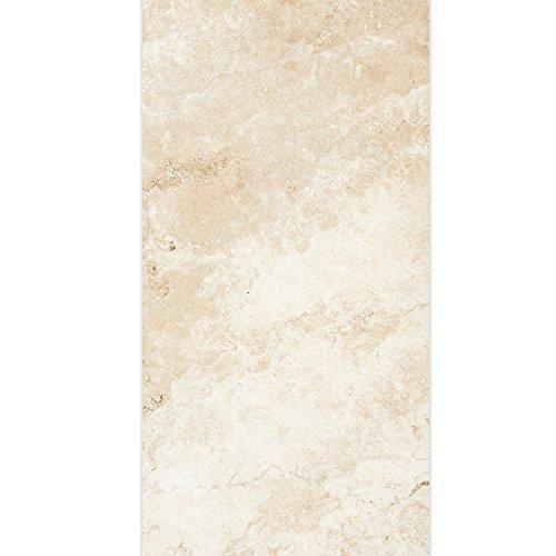 Terrassenplatten Terrasssenfliesen Travertine Elfenbein 45x90cm