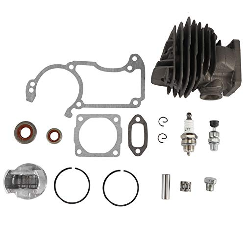 DERCLIVE Kit de junta de sellado de aceite de cilindro de 44 mm para motosierra Stihl 026 MS260 MS260C 026PRO