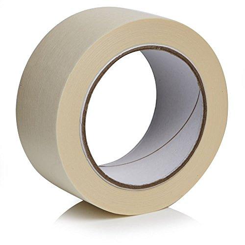 Gocableties - Rollo de cinta adhesiva de alta calidad, 50 m x 38 mm, pintura y decoración