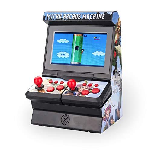 Yihaifu 300 En 1 Retro Arcade 8 bits NES portátil de Juegos de Consola 8 Joystick Gamepad inalámbrico portátil 2 Famicom