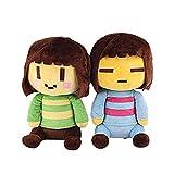 2Pcs Undertale Plushies, Undertale Plushies Set Frisk y Chara Peluches para niños Regalos para niños (Chara & Frisk)