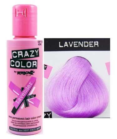 2 x Crazy Color Lavender 54