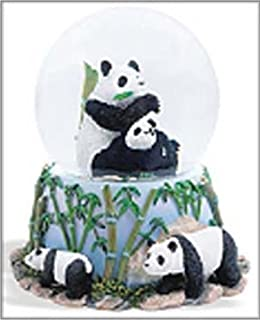 Image of Panda Bear Musical Snowglobe