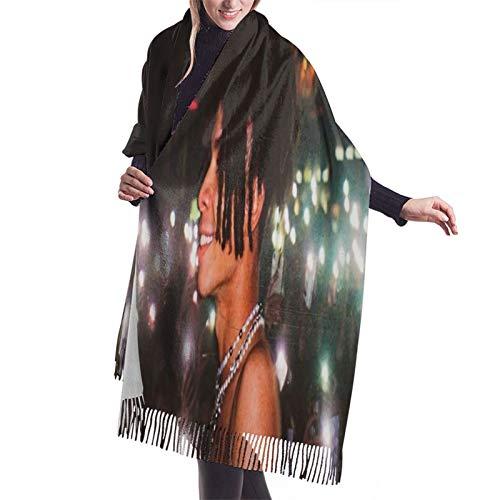 Vcxbsdvbd Iann Dior Aestheticfashion Cashmere Big Shawl Winter Thick Warm Scarf Blanket 77'X 27