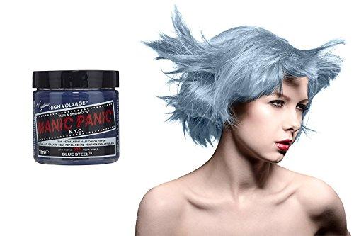 Manic Panic High Voltage Classic Cream Formula Colour Hair Dye (Blue Steel)