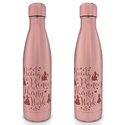 Disney Princess MDB25553 Trinkflasche aus Stahl, 500 ml, für Erwachsene, Unisex, Mehrfarbig, 500 ml