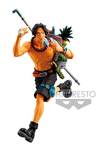 Banpresto Estatua Portgas D. Ace, Multicolor, One Piece (BANP82976)