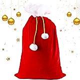 Saco de Navidad,Saco de Regalo,Saco de Santa,Bolsa de Santa,Bolsa niños,Saco de Papa Noel,Papá Noel Personalizado,Bolsa de Regalo de Santa,Bolsa de Franela navideña