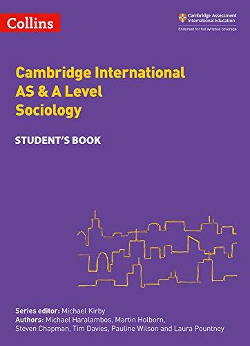 Cambridge International AS & A Level Sociology Student's Book (Collins Cambridge International AS & A Level)