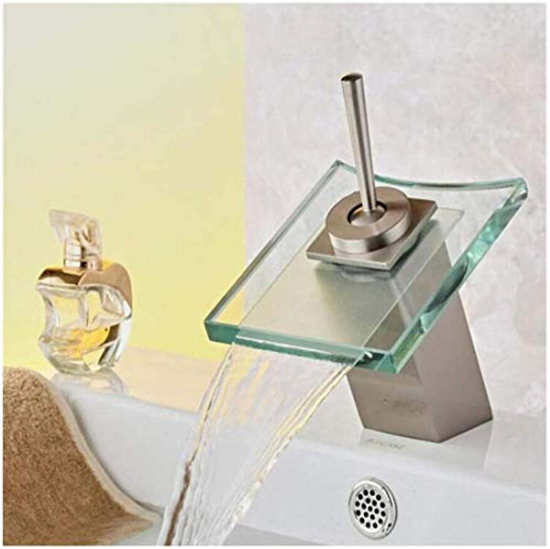 Wasserhahn Küche Bad Garten Waschtisch-Mischer-Heier Und Kalter Badezimmer-Wasserfall-Hahn Ctzl1257