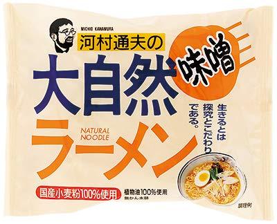 健康フーズの大自然キムチラーメン (みそ味×30個入)×1ケース JAN: 4973044020227