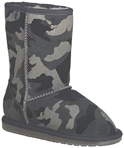 EMU Australia Kids Camo Deluxe Wool Boots Size 1 EMU Boots