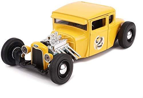 Yanzz Auto-Modell Model Car Ford Modell A 1929 Retro Classic Car 01.24 Analog Druckgießende Legierung Original-Simulation Auto-Modell Auto-Modell-Urlaub dsfhsfd